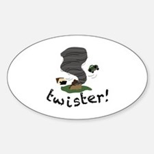 Twister! Decal