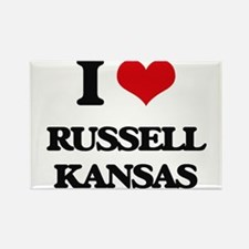I love Russell Kansas Magnets