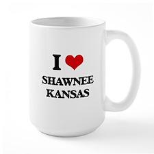 I love Shawnee Kansas Mugs