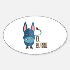 El Burro Decal