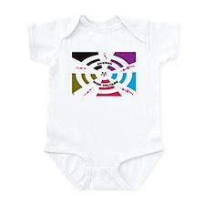 Cute Fire alarm Infant Bodysuit