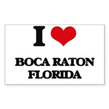 I love Boca Raton Florida Decal
