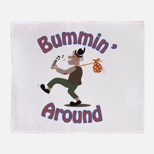 Bummin Around Throw Blanket