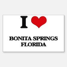I love Bonita Springs Florida Decal