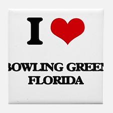 I love Bowling Green Florida Tile Coaster