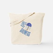 Umbrella April Showers Tote Bag