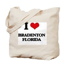 I love Bradenton Florida Tote Bag