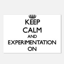 Keep Calm and EXPERIMENTA Postcards (Package of 8)
