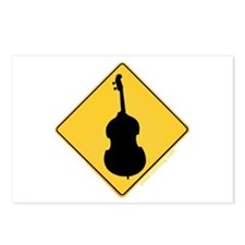 Crossing Zone Bass Postcards (Package of 8)