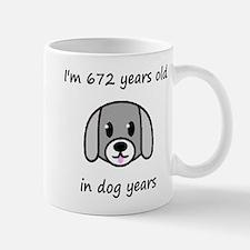 96 dog years 2 Mugs