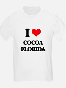 I love Cocoa Florida T-Shirt
