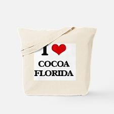 I love Cocoa Florida Tote Bag