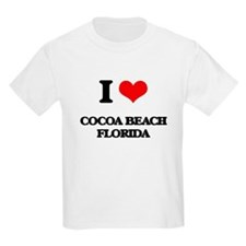 I love Cocoa Beach Florida T-Shirt