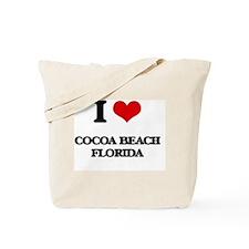 I love Cocoa Beach Florida Tote Bag