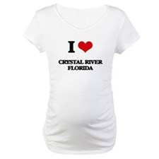 I love Crystal River Florida Shirt