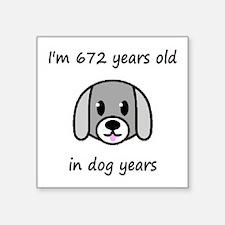 96 dog years 2 - 2 Sticker