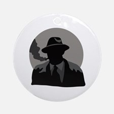 Movie Detective Ornament (Round)