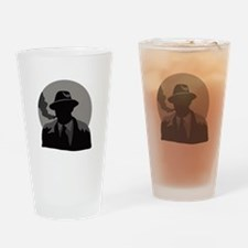 Movie Detective Drinking Glass