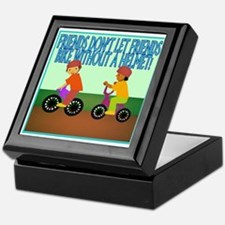 Bicycle Safety Keepsake Box