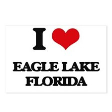 I love Eagle Lake Florida Postcards (Package of 8)