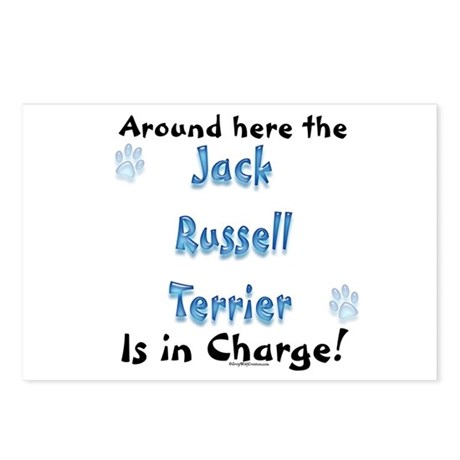 JRT Charge Postcards (Package of 8)