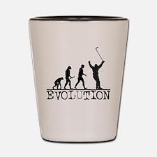 Evolution Hockey Shot Glass
