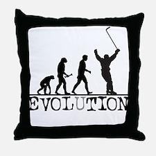 Evolution Hockey Throw Pillow