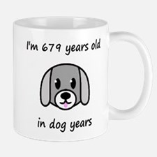 97 dog years 2 Mugs
