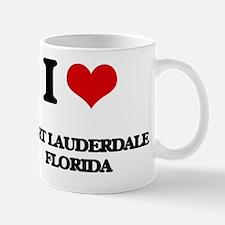 I love Fort Lauderdale Florida Mug