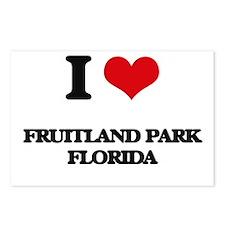 I love Fruitland Park Flo Postcards (Package of 8)