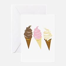 Three Cones Greeting Cards