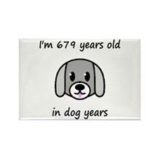 97 dog years 2 - 2 Magnets