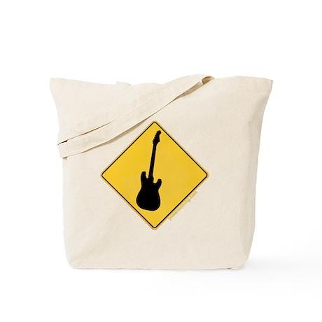 Crossing Zone Electric Guitar Tote Bag
