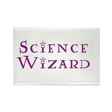 Science Wizard Rectangle Magnet