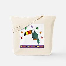 Toucan Power Tote Bag