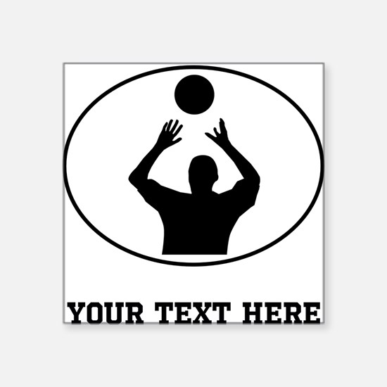 Custom Volleyball Bumper Stickers CafePress - Custom sport car magnetsvolleyball car magnet custom magnets for volleyball players