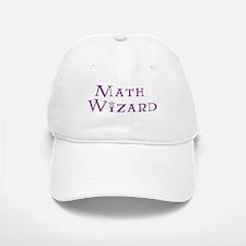 Math Wizard Baseball Baseball Cap
