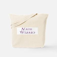 Math Wizard Tote Bag
