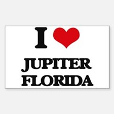 I love Jupiter Florida Decal