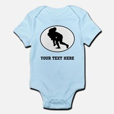 Rugby Tackle Oval (Custom) Body Suit
