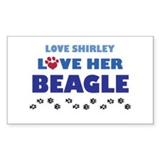 Shirley Rectangle Decal