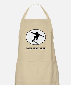 Skateboarder Oval (Custom) Apron