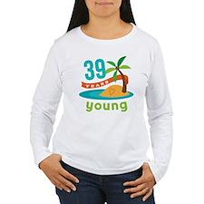 39th Birthday Hawaiian T-Shirt