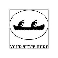 Canoeing Oval (Custom) Sticker