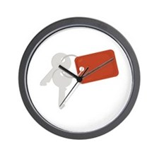Car Keys Wall Clock