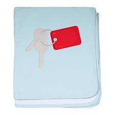 Car Keys baby blanket