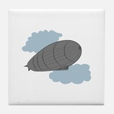 Air Zeppelin Tile Coaster