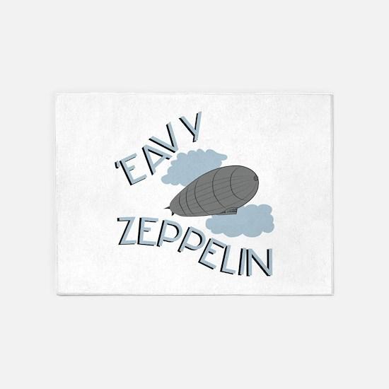 Eavy Zeppelin 5'x7'Area Rug