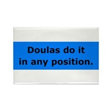 Doulas Do it Rectangle Magnet