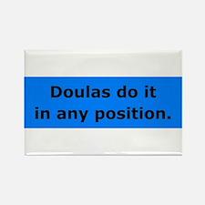 Doulas Do it Rectangle Magnet